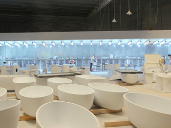 熱烈慶祝隆利杰2011年新款亞克力浴室柜獲得圓滿成功